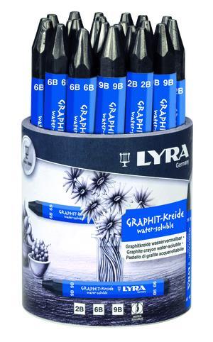 Lyra Grafitkrita Laverbar 24-pack