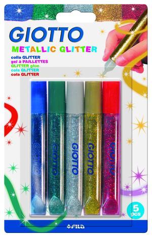 Giotto Glitterlim Metallic 10,5 ml 5 st BL