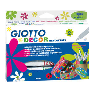 Giotto Decor Materials 6-pack