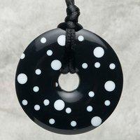 Polka Dot, black