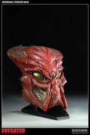 Predators Ceramonial Mask Prop Replica