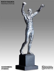 Rocky Balboa: Pewter Rocky Statue
