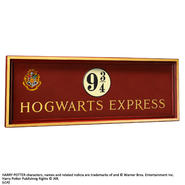 Harry Potter: Hogwarts 9 3/4 sign