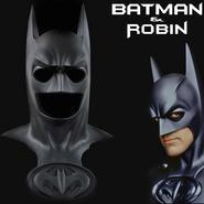 Lifesize Batman & Robin Black Cowl