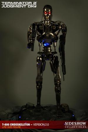 Terminator: T-800 Endoskeleton 2.0 Life Size Replica
