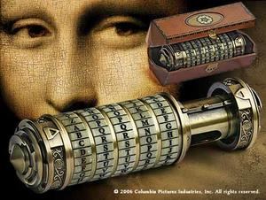 Da Vinci Code replica cryptex