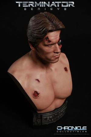Terminator: Battle Damaged T-800 1:2 scale Bust