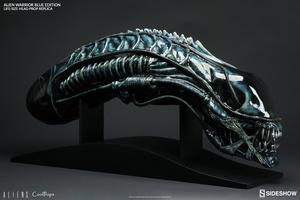 Aliens: Alien Warrior Blue Edition Life-Size Head