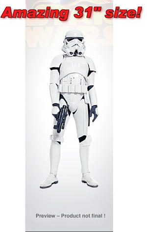 31 inch Giant Size Figure Stormtrooper