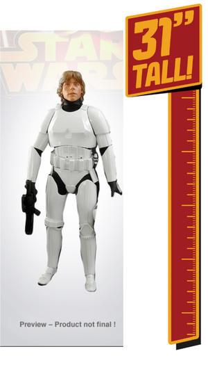31 inch Giant Size Figure Stormtrooper Luke