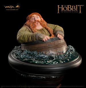 The Hobbit - The Desolation of Smaug : Bombur Barrel Rider