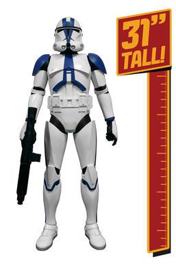 31 inch Giant Size Figure Clone Trooper