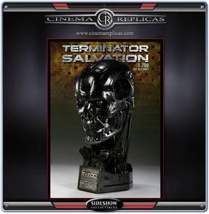 Terminator Salvation T-700 Life-Size Bust