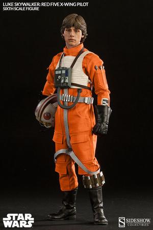 Luke Skywalker Red Five X-Wing pilot Sixth Scale Figure