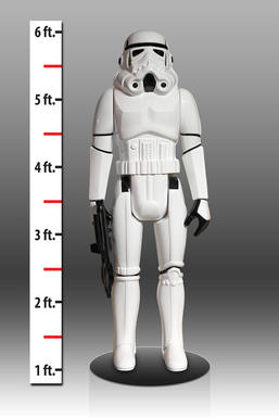 Stormtrooper Life Size Vintage Monument