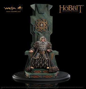 King Thror on throne 1:6 scale statue