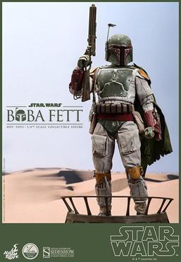 Boba Fett 1:4 Scale Collectible Statue