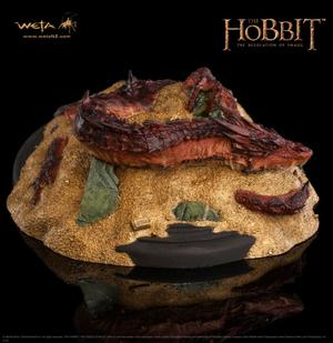 Smaug King Under the Mountain Statue