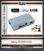 IPHONE IPOD och USB MP3 interface Comand MOST