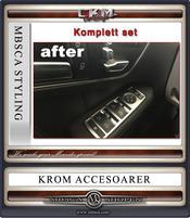 Kromramar BORSTAD metall elhissar 4st set
