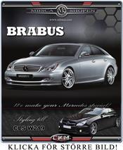 0. Brabus original frontspoiler för CLS  !