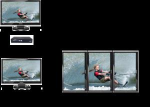 Datapath X4 1U skärmväggkontroller
