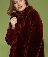 Alba Coat Brique Red