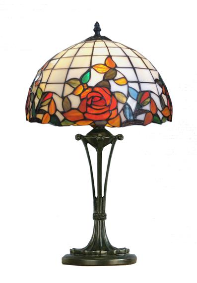 Bordslampa Red Rose Ø 31cm
