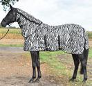 """Flugtäcke """"Zebra"""" med magskydd"""