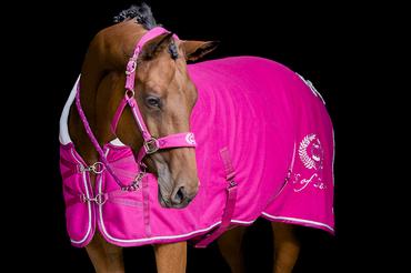 Fleecetäcke Azalea Pink