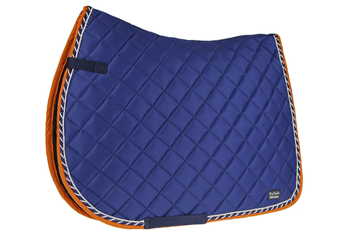 Saddle Pad Iris Blue Jump