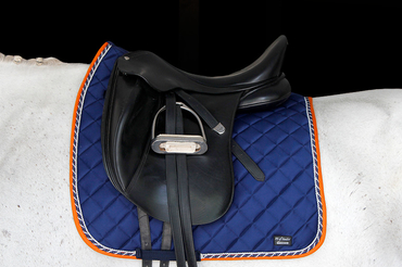 Saddle Pad Iris Blue Dressage