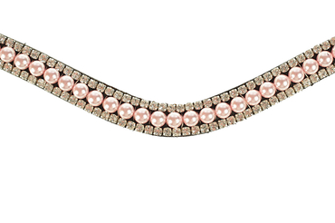Browband Light Rosy Joy