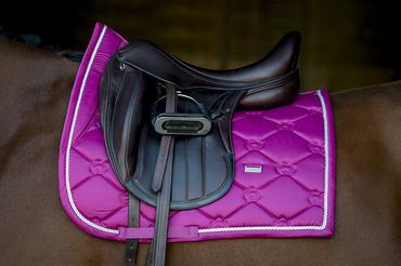 Saddle Monogram Azalea Pink Dressage