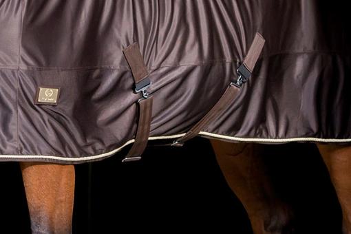 Blanket Shiny Fleece No Lining Brown