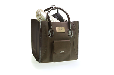 Grooming bag Premium Brown
