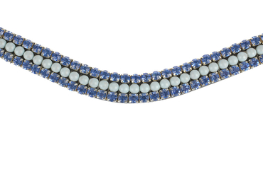 Browband Petite Blue