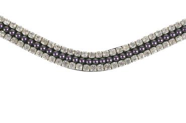 Browband Petite purple