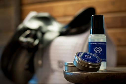 PS Leather soap & leather balm