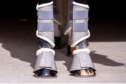 Bell Boots, grey