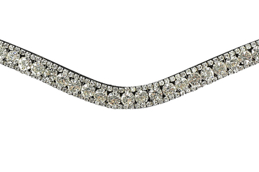 Browband White Delight