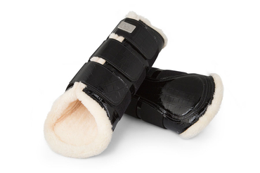 Dressage Boots, black, hind leg