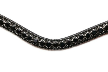 Browband Black Delight