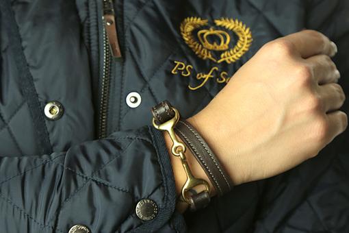 Spur strap / Bracelet Gold