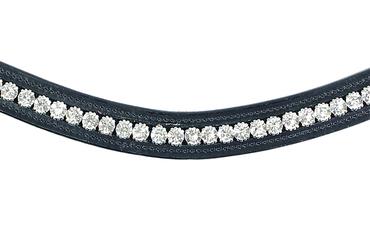 Browband Swarovski Crystal Clear
