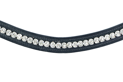 Browband Swarovski Crystal Clear