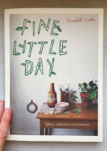 FINE LITTLE DAY BOOK, ENGLISH