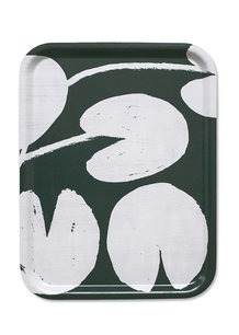 WATER LILIES TRAY, PETROL