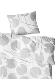 WATER LILIES BED SET, GREY