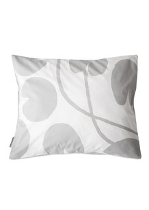 WATER LILIES PILLOW CASE, GREY